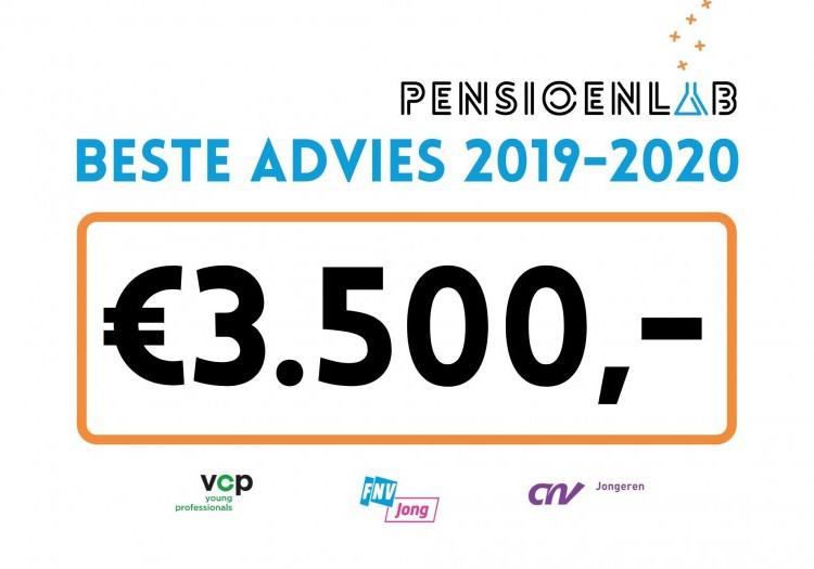 Winnaar PensioenLab 2019-2020 is bekend!