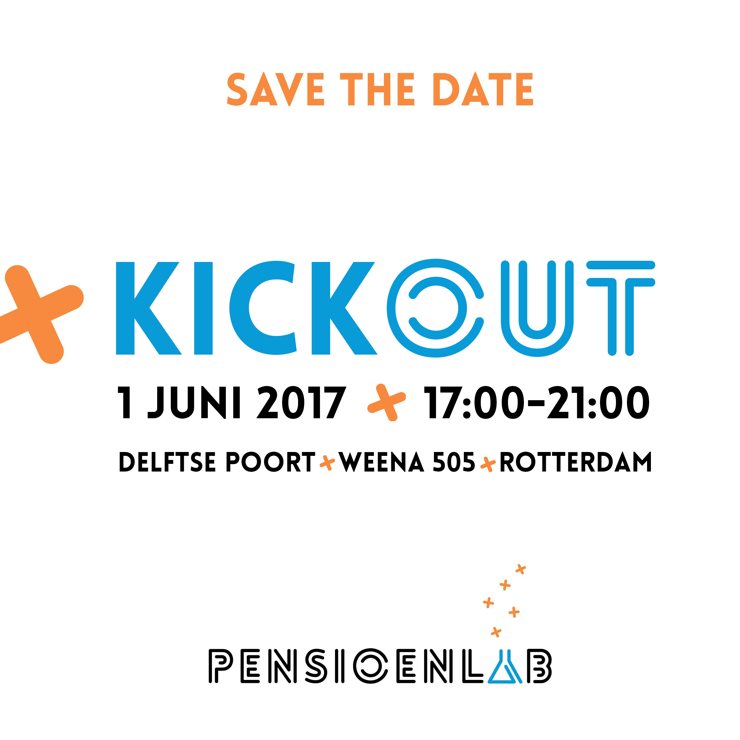 Kickout Save the date