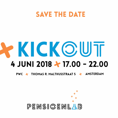 Kickout Save the date 2018 - 4 juni 2018